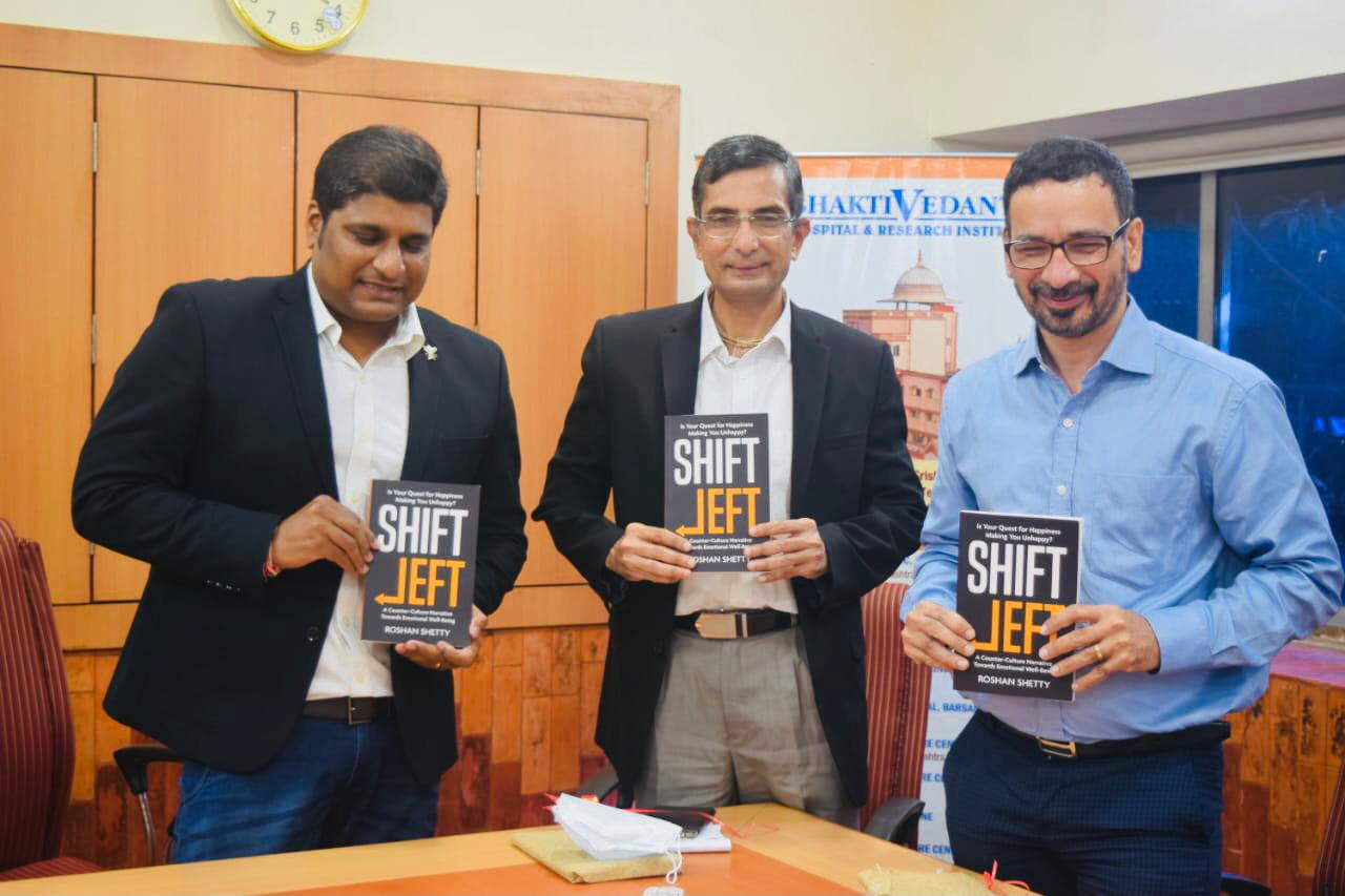 """Roshan Shetty announces his new self-help book """"SHIFT LEFT""""- A counter culture narrative towards emotional wellbeing amidst the pandemic"""