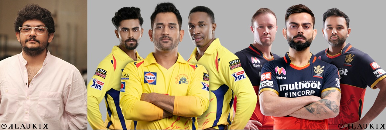 Alaukik Group brings two legendary teams (CSK & RCB) of IPL 2020 together for brand DAVAINDIA
