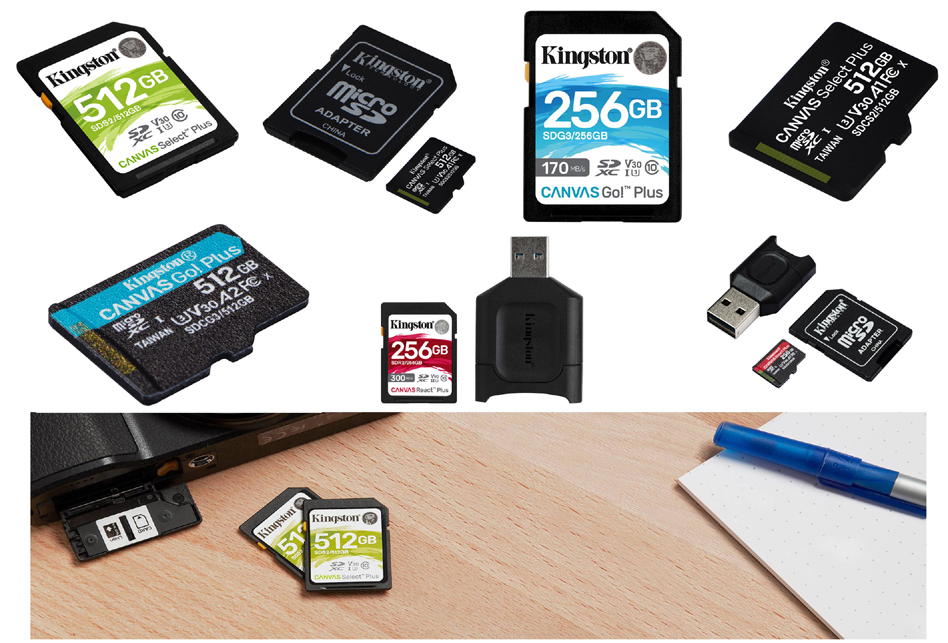 Kingston Announces the Launch of Refreshed 'Canvas' Card Series and 'MobileLite Plus' Readers in India
