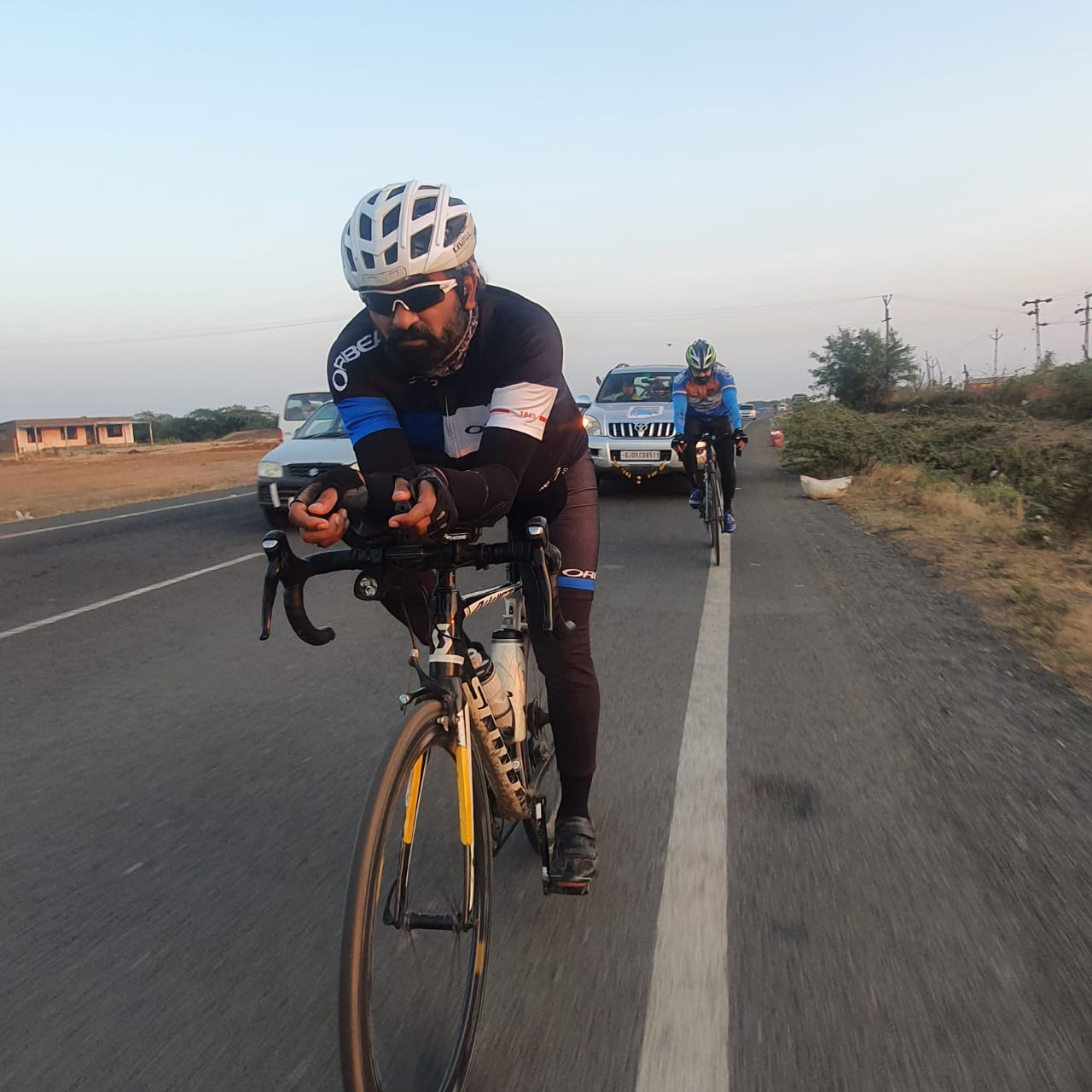 Ride for Gujarat Pride: Jagdish Italiya along with Dr Dharmesh Balar completed 1600 kms Cycling in 5 days all around Gujarat