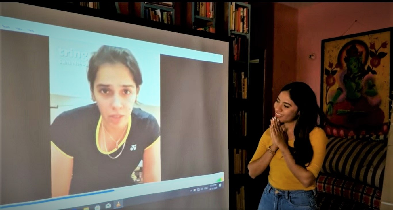Saina Nehwal goes out of her way to surprise her inspiring fan on Christmas