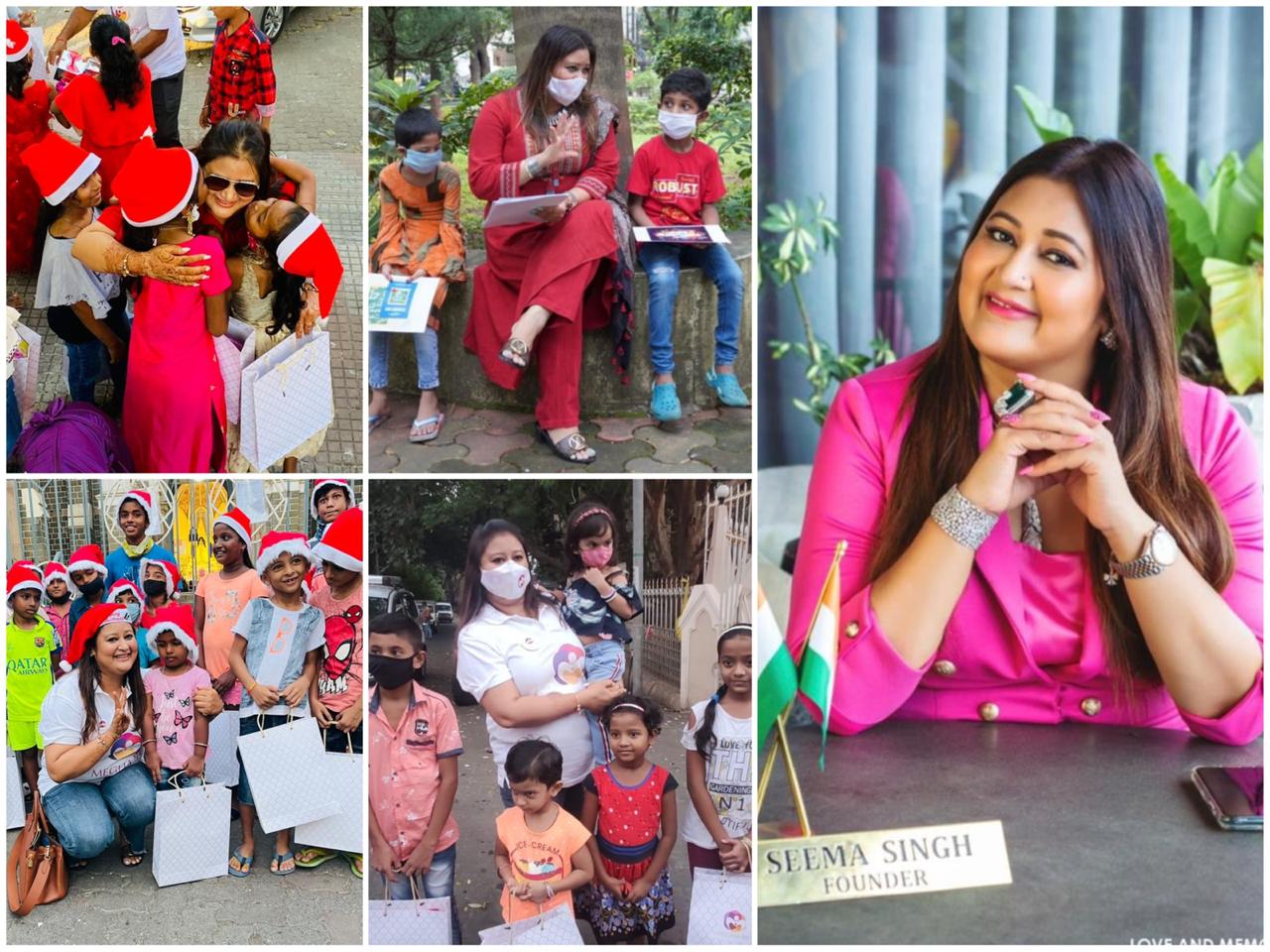 Meghashrey, an NGO founded by Seema Singh is spreading Happiness and Kindness amongst the underprivileged section in Mumbai
