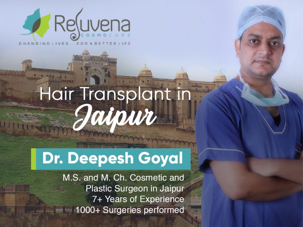 Jaipur's Dr. Deepesh Goyal offers Affordable & Superior Hair Transplant and Cosmetic Procedures to Medical Tourists